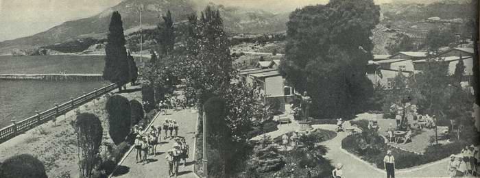 Артек. Нижний лагерь, панорама height=260