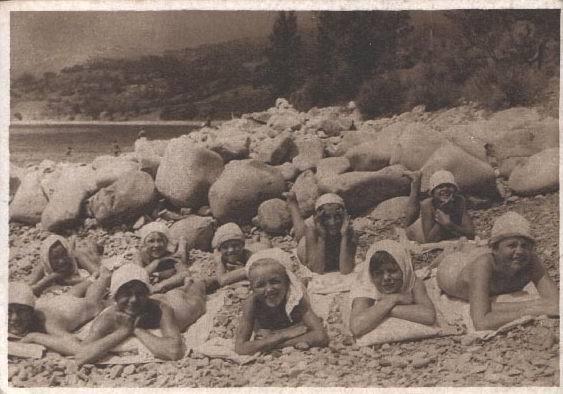 Пионеры нагишом на пляже фото 213-170