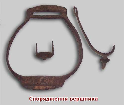Археологія, стремено, шпора...  XIII ст., Русь