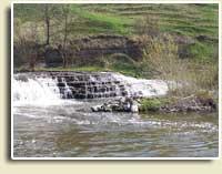 Смотріч, водоспад, село Купин