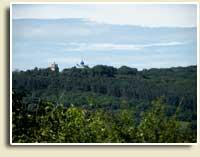 Так виглядає Троїцький монастир з Замкової гори