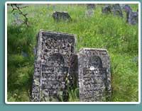 Давні єврейські могили, Сатанів