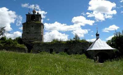 Дзвіниця, монастир