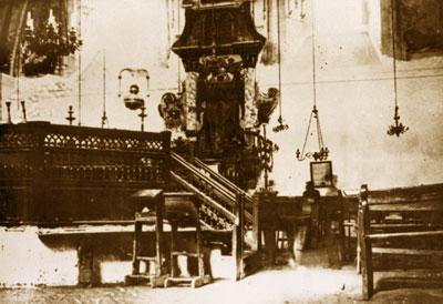 Cатанів, синагога