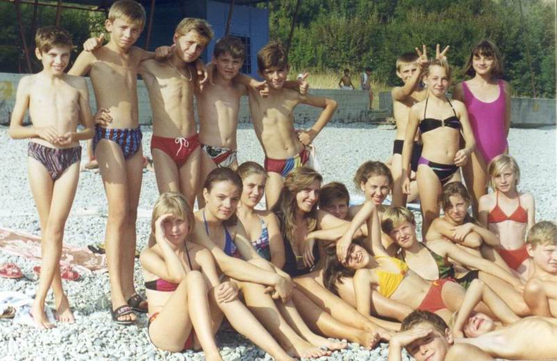 фото в лагере голые